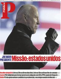 capa Público de 8 novembro 2020
