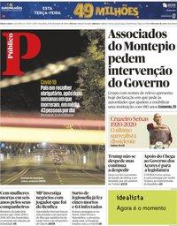 capa Público de 10 novembro 2020