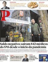 capa Público de 21 novembro 2020