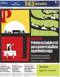 capa Público de 24 novembro 2020
