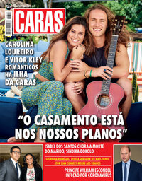capa Revista Caras de 5 novembro 2020