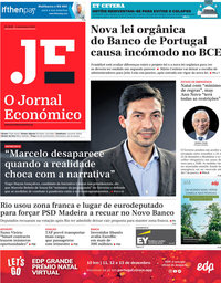 capa Jornal Económico de 4 dezembro 2020