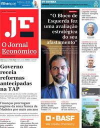 capa Jornal Económico de 11 dezembro 2020
