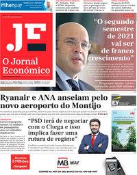 capa Jornal Económico de 18 dezembro 2020