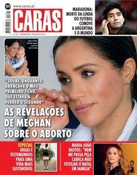 capa Revista Caras de 3 dezembro 2020