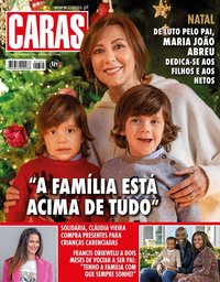 capa Revista Caras de 24 dezembro 2020