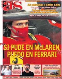 capa Jornal As de 8 janeiro 2021