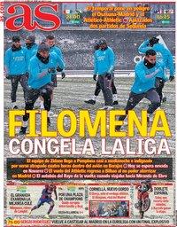 capa Jornal As de 9 janeiro 2021