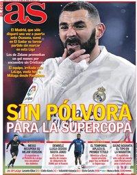 capa Jornal As de 11 janeiro 2021