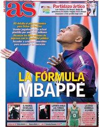capa Jornal As de 12 janeiro 2021