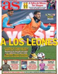 capa Jornal As de 14 janeiro 2021