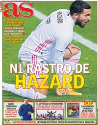 capa Jornal As de 16 janeiro 2021