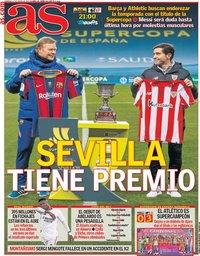 capa Jornal As de 17 janeiro 2021