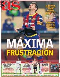 capa Jornal As de 19 janeiro 2021