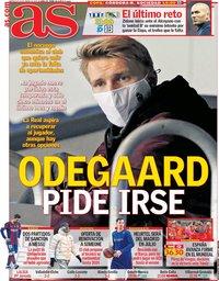 capa Jornal As de 20 janeiro 2021