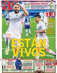 capa Jornal As de 24 janeiro 2021