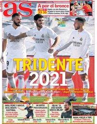 capa Jornal As de 30 janeiro 2021