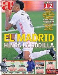 capa Jornal As de 31 janeiro 2021