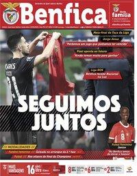 capa de Jornal Benfica