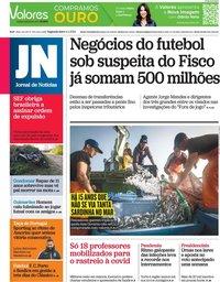 capa Jornal de Notícias de 11 janeiro 2021