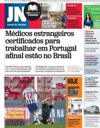 capa Jornal de Notícias de 30 janeiro 2021