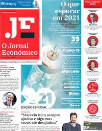 capa Jornal Económico de 1 janeiro 2021