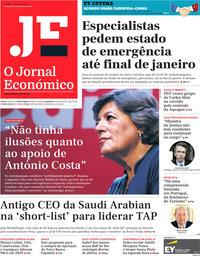 capa Jornal Económico de 8 janeiro 2021