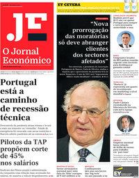 capa Jornal Económico de 29 janeiro 2021