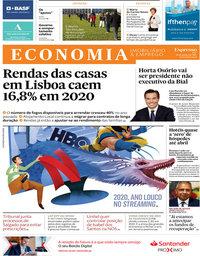 capa Jornal Expresso Economia