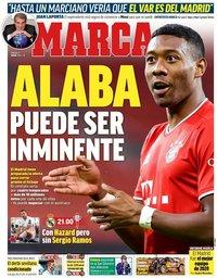 capa Jornal Marca de 2 janeiro 2021
