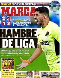 capa Jornal Marca de 4 janeiro 2021