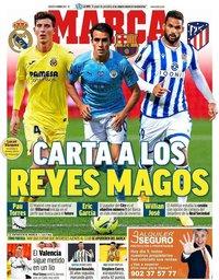 capa Jornal Marca de 5 janeiro 2021