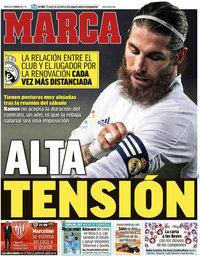 capa Jornal Marca de 6 janeiro 2021