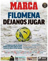 capa Jornal Marca de 8 janeiro 2021