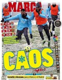 capa Jornal Marca de 9 janeiro 2021
