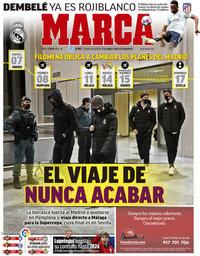 capa Jornal Marca de 11 janeiro 2021