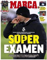 capa Jornal Marca de 12 janeiro 2021