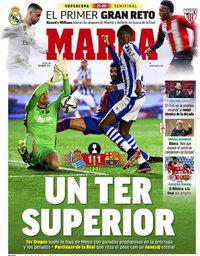 capa Jornal Marca de 14 janeiro 2021