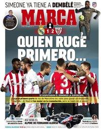 capa Jornal Marca de 15 janeiro 2021