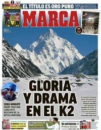 capa Jornal Marca de 17 janeiro 2021