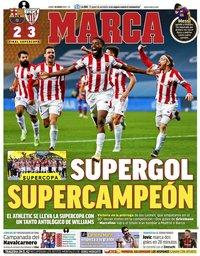 capa Jornal Marca de 18 janeiro 2021