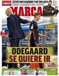 capa Jornal Marca de 20 janeiro 2021