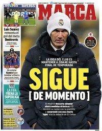 capa Jornal Marca de 22 janeiro 2021