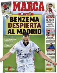 capa Jornal Marca de 24 janeiro 2021