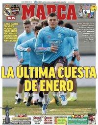 capa Jornal Marca de 30 janeiro 2021