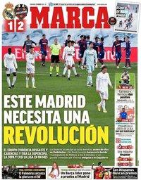 capa Jornal Marca de 31 janeiro 2021