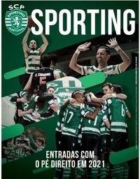 capa Jornal Sporting de 8 janeiro 2021