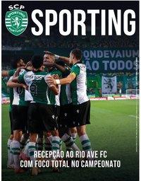 capa Jornal Sporting de 15 janeiro 2021