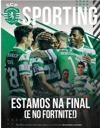 capa Jornal Sporting de 22 janeiro 2021