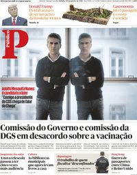 capa Público de 30 janeiro 2021